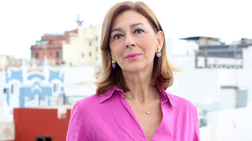 La candidata a decana del Colegio de Abogados de Las Palmas Idoia Mendizábal (ALEJANDRO RAMOS)