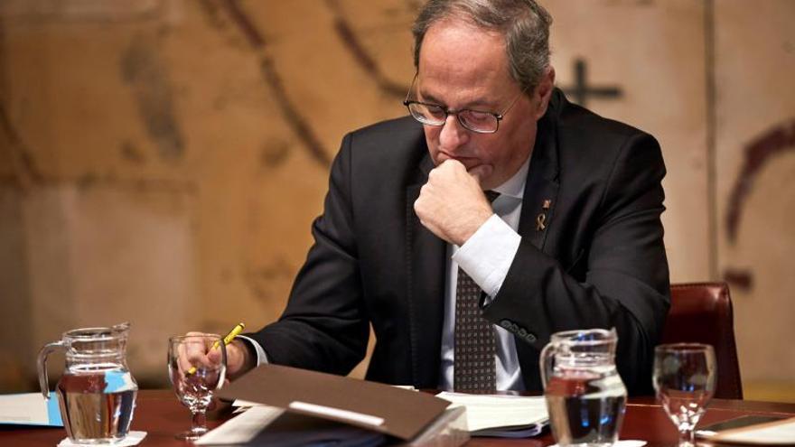 """Torra denuncia al Supremo una """"persecución política"""" de la JEC para cesarle"""