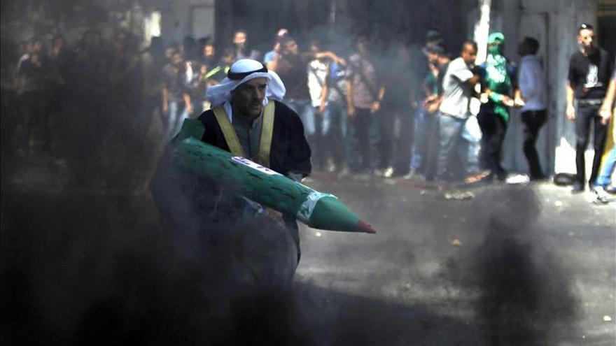 Israel ataca 35 objetivos en Gaza y los palestinos disparan más de 50 cohetes