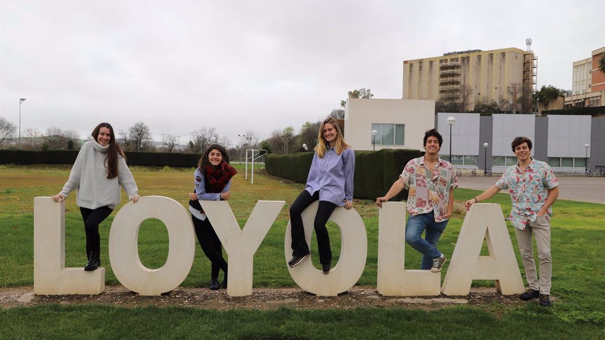 Alumnos de Loyola Andalucía en una imagen de archivo.