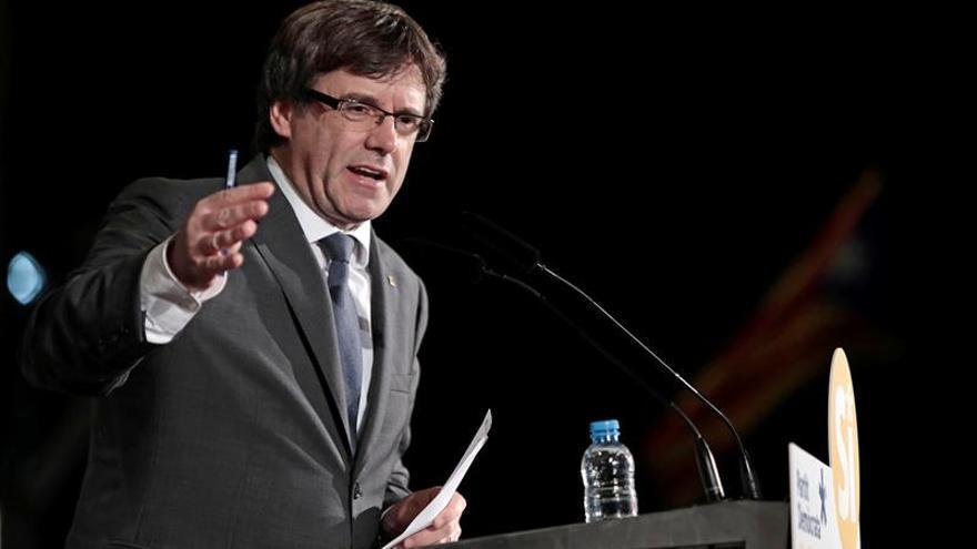 Puigdemont difunde un nuevo enlace para acceder a los puntos de votación del 1-O