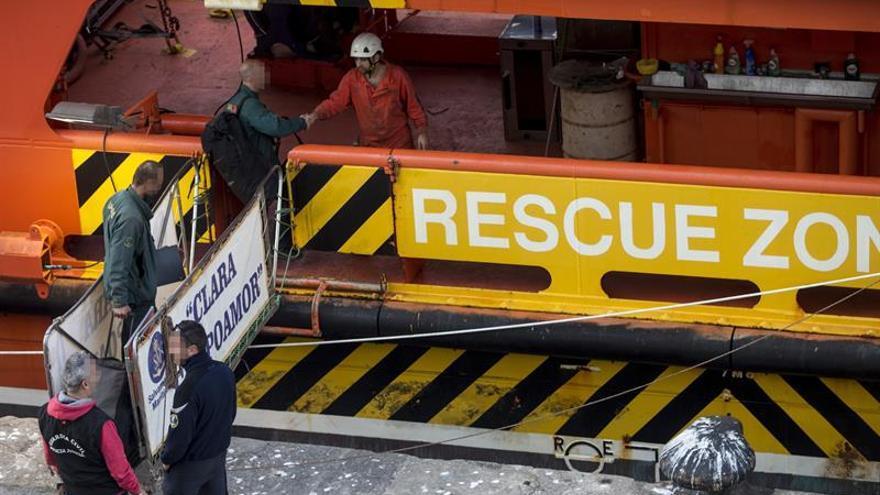 Activado el dispositivo marítimo para buscar a dos pescadores desaparecidos
