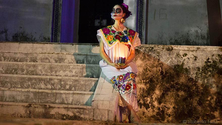 Hanal Pixán, Dia de Muertos, Mérida, Yucatán, México