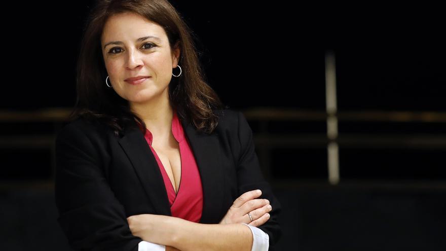 Adriana Lastra, portavoz del Grupo Socialista en el Congreso de los Diputados