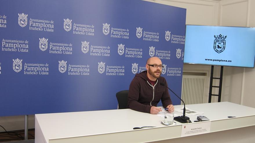 Armando Cuenca plantea limitar a 30 km/h la velocidad en las calles de Pamplona