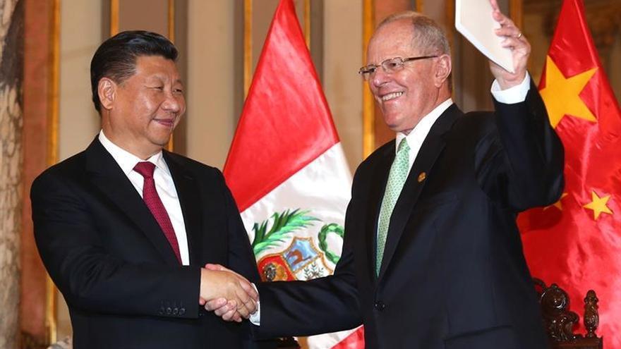 Xi destacó el nivel de relaciones con Perú y el crecimiento de China