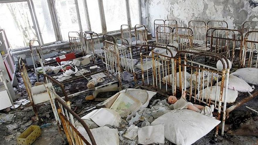 El accidente de Chernóbil obligó a evacuar los pueblos cercanos
