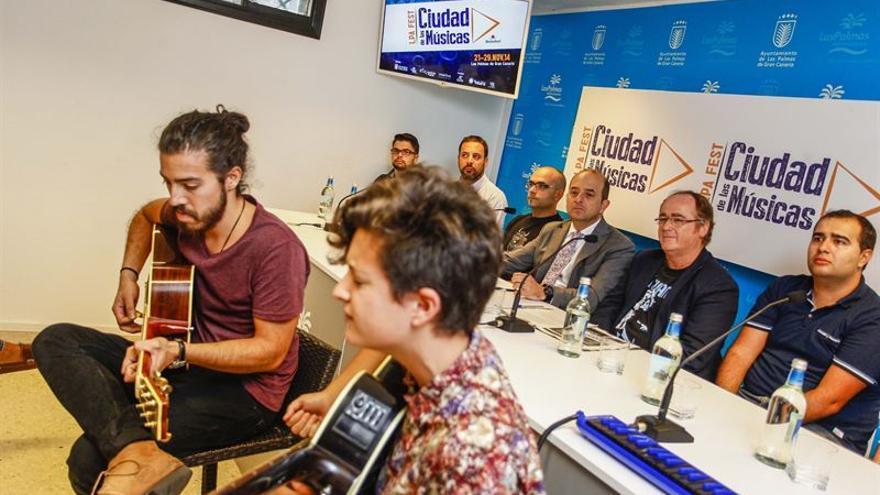Presentación del concierto 'LPA FEST Ciudad de las Músicas'.