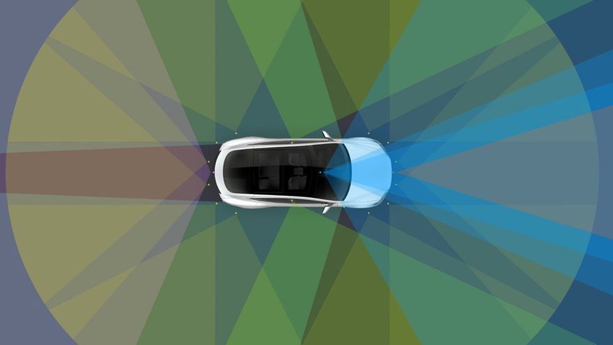 Tesla ha anunciado que sus coches serán autónomos en 2018