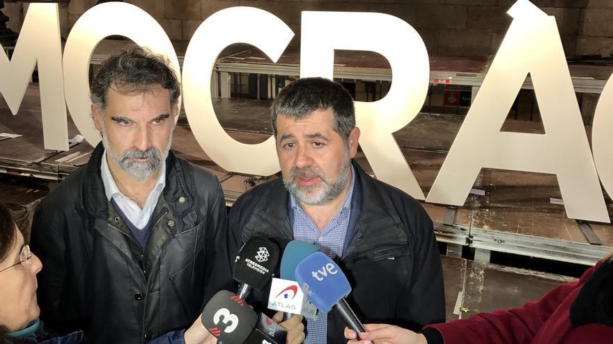 Entidades soberanistas piden serenidad, unidad y lealtad ante la declaración de Forcadell