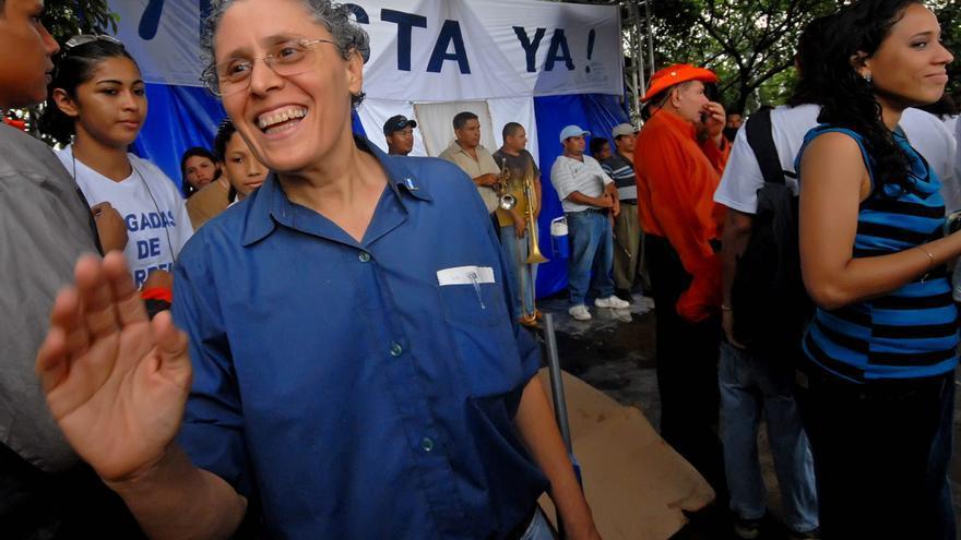 La Policía de Nicaragua arresta a exguerrillera sandinista Dora María Téllez