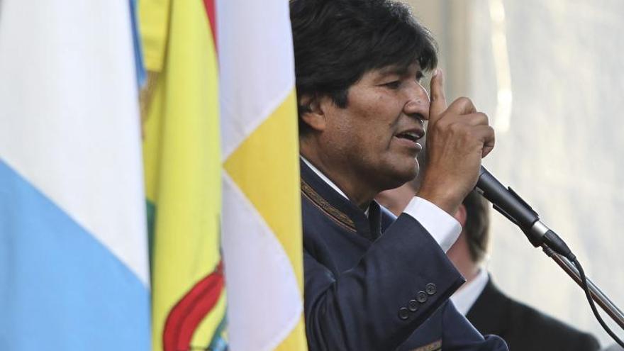 """Evo Morales dice a ONG danesa que la """"conspiración no se perdona"""""""