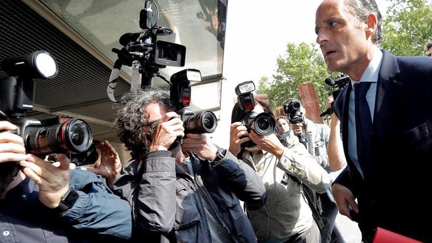 La Fiscalía va a pedir investigar a Camps por Gürtel en la Audiencia Nacional
