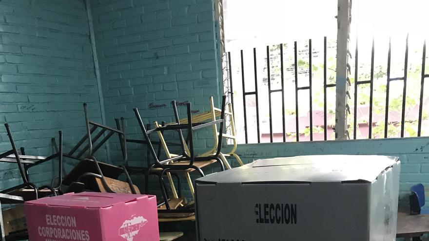 Urnas en Honduras