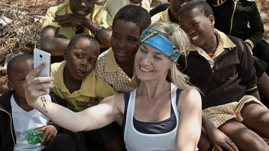 Imagen de la campaña '¿Quién quiere ser voluntario?', del Fondo de Asistencia Internacional para Estudiantes y Académicos de Noruega (SAIH).