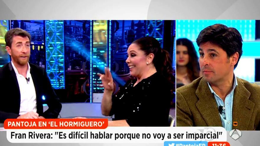 Fran Rivera habló sobre la entrevista de Isabel Pantoja en 'El Hormiguero'