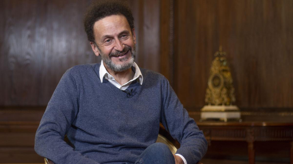 Edmundo Bal, portavoz adjunto de Ciudadanos en el Congreso, durante la entrevista