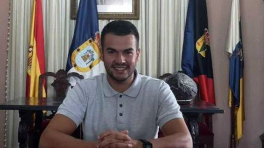 Juan Joel Hernández, concejal de Deportes del Ayuntamiento de Fuencaliente.