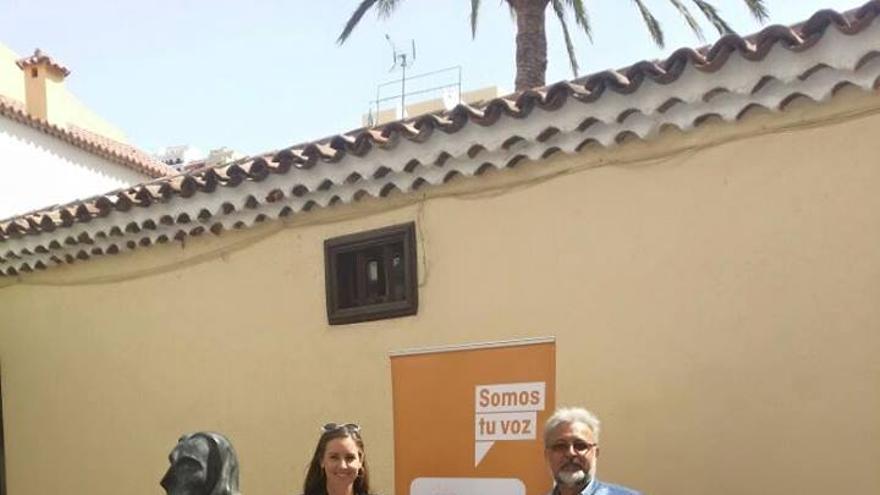 Los candidatos de C's en La Gomera