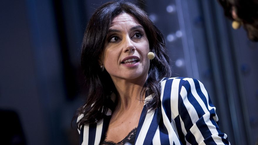 """Marta Flich en la presentación de su libro """"Necroeconomía: El manual para entender la economía perversa""""/Gtres"""