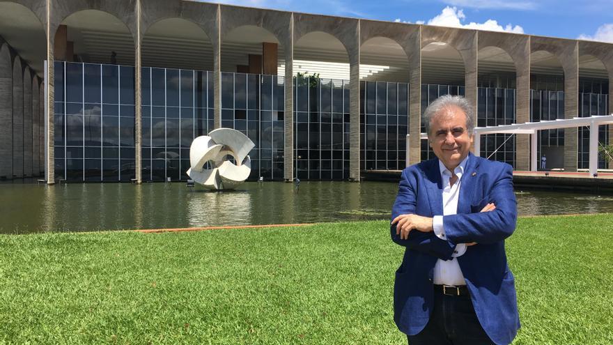 Tomás Sancho, ingeniero, fue presidente de la Confederación Hidrográfica del Ebro