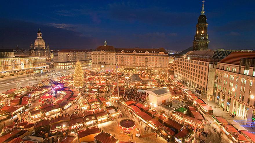 Mercado de Navidad de Dresde