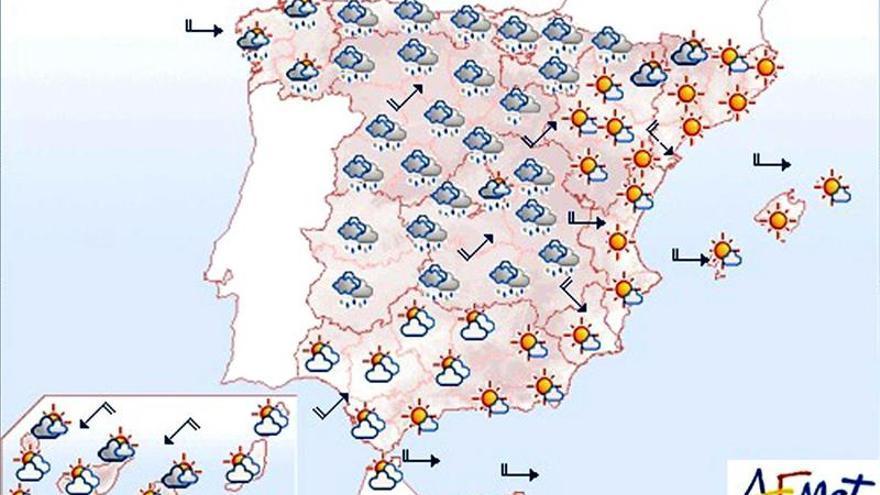Intervalos de viento fuerte en el litoral Cantábrico
