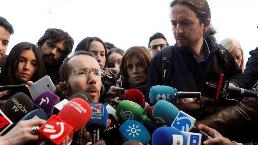 """Echenique admite desatención a bases y plantea """"nueva fase"""" más dialogante"""