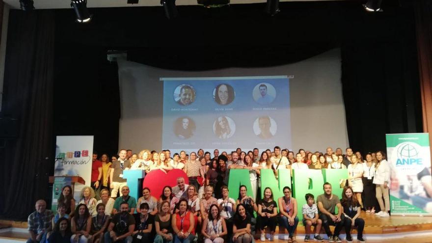 Foto de familia en el I Congreso de ANPE de Innovación Educativa, este sábado en Las Palmas de Gran Canaria