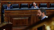 Las derechas han atribuido a Sánchez seis golpes de Estado desde que es presidente