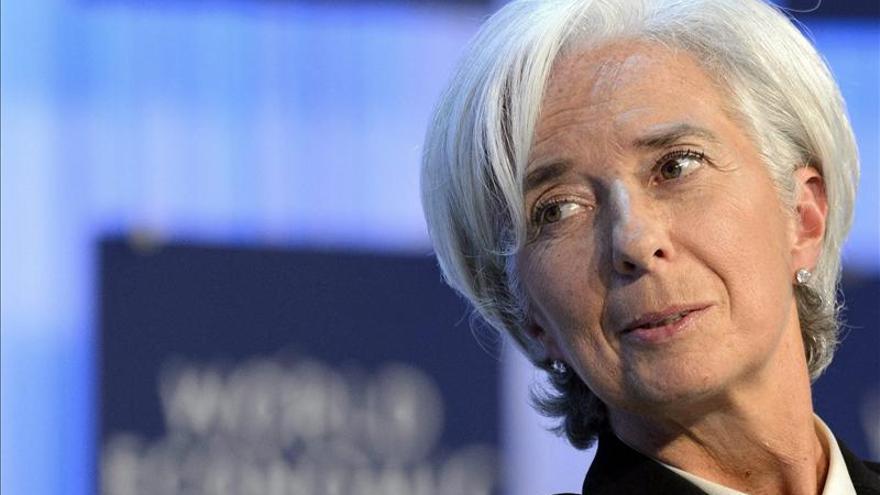Lagarde denuncia que una gran parte del sector financiero siga sin regulación