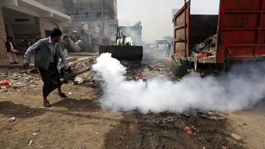 La OMS diagnostica 20.000 casos sospechosos de cólera en Yemen en tres días