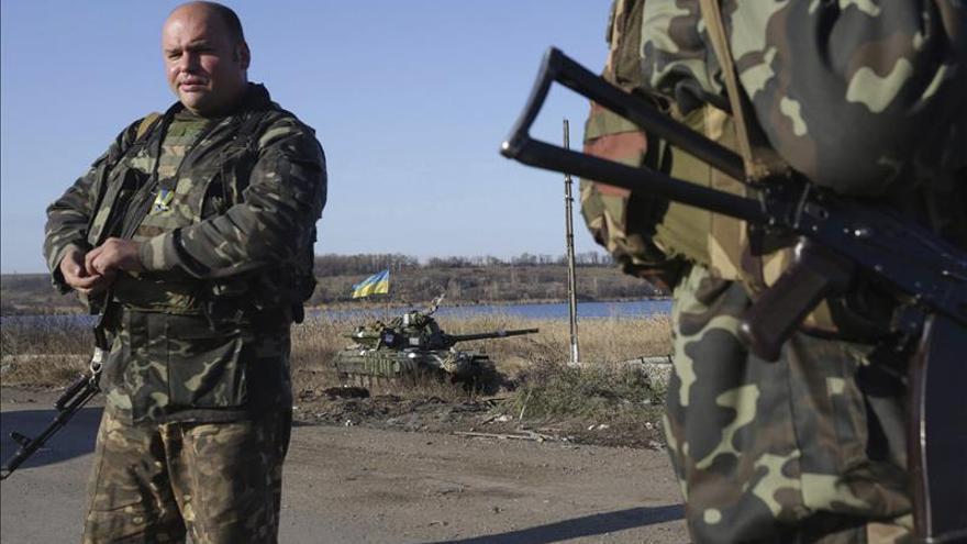 Al menos 4 soldados muertos en ataques prorrusos en el este de Ucrania