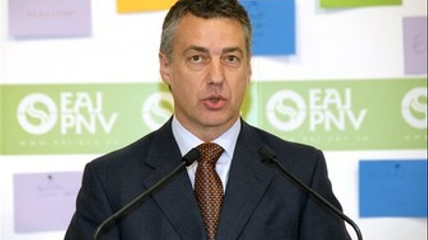 Iñigo Urkullu. (EUROPA PRESS)