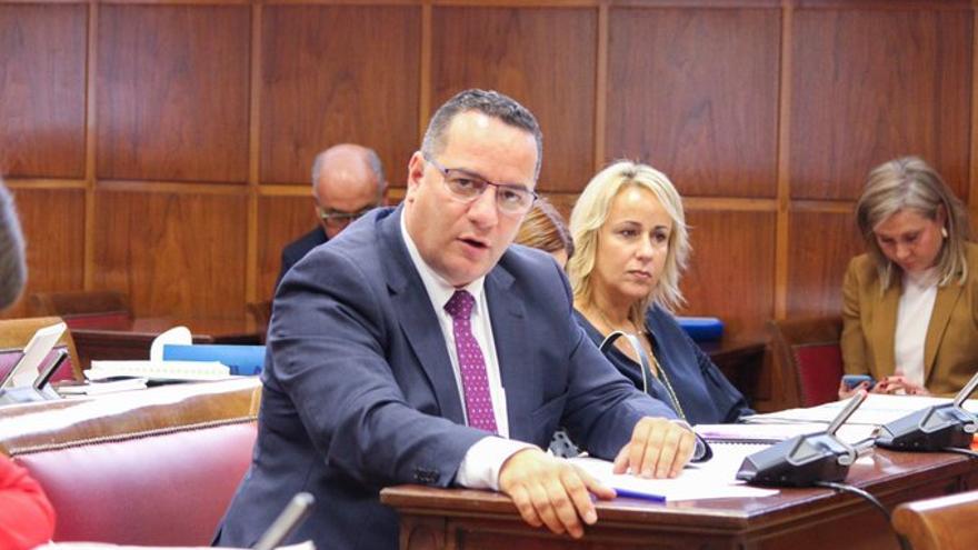 Hipólito (Poli) Suárez, nuevo presidente insular del Partido Popular de Gran Canaria.