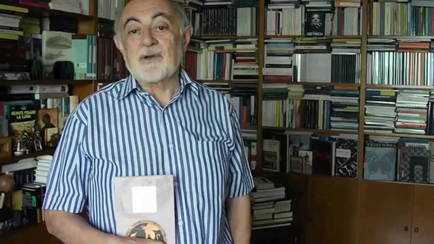 Carlos García Gual, escritor que participará en Periplo 2017