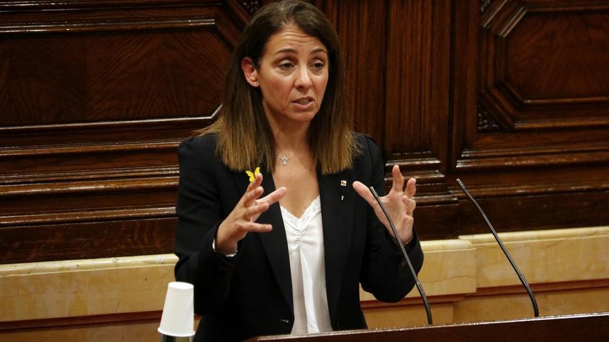 La consellera Meritxell Budó pide implicación y facilitar liquidez para afrontar la reconstrucción