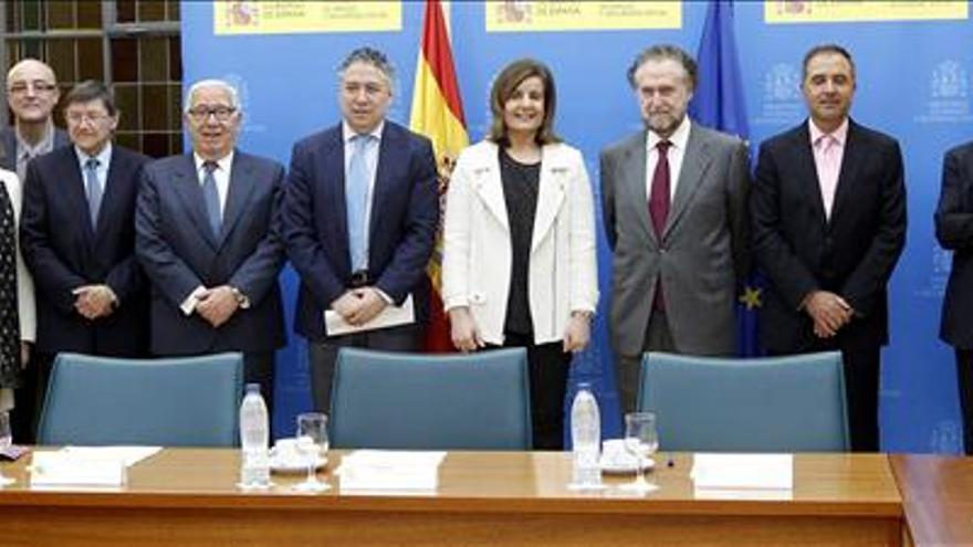 Los expertos han aprobado el informe sobre reforma de las pensiones