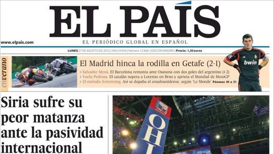 De las portadas del día (27/08/2012) #8