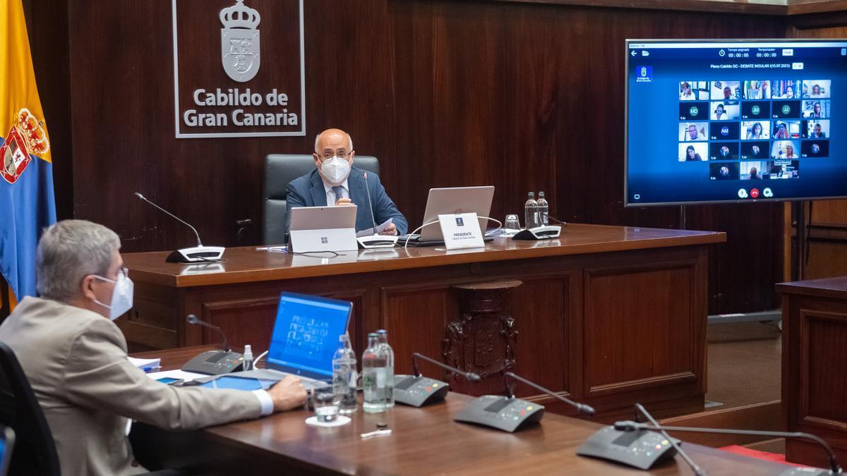 Primera jornada del debate sobre el estado de la isla de Gran Canaria