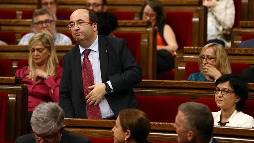 """Iceta """"se cree"""" la voluntad de Díaz de coser al PSOE, pero pide claridad a los críticos"""