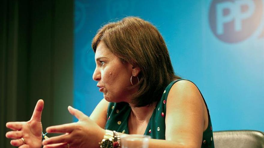 La líder de los populares valencianos, Isabel Bonig