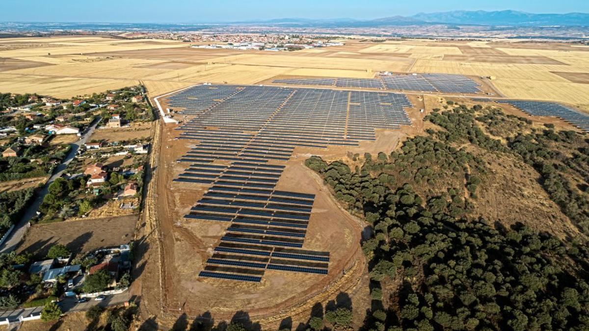 Planta fotovoltaica en El Casar (Guadalajara)