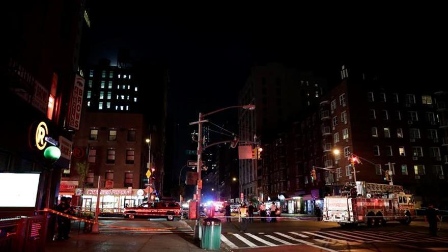 """El alcalde de Nueva York califica de """"acto deliberado"""" la explosión que causó 29 heridos"""