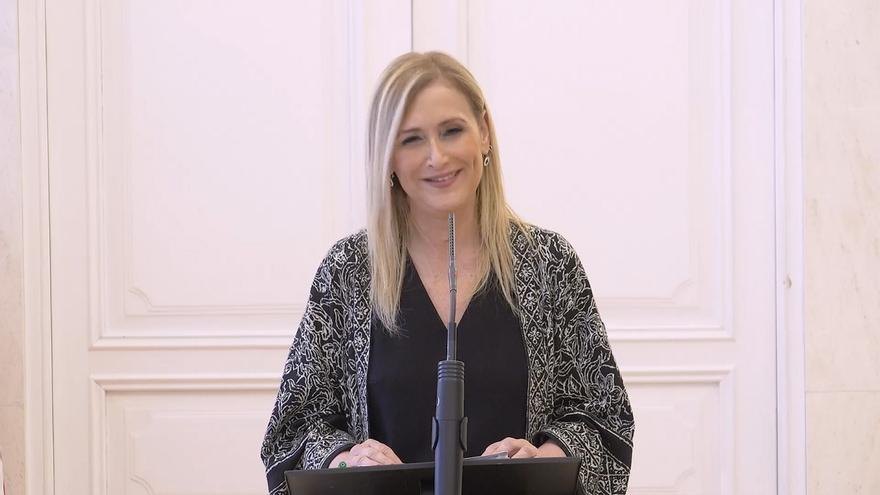 La presidenta madrileña, Cristina Cifuentes.