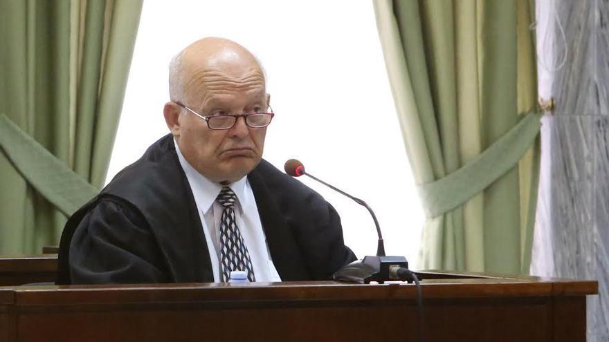 Eligio Hernández, abogado de José Manuel Soria. (ALEJANDRO RAMOS)