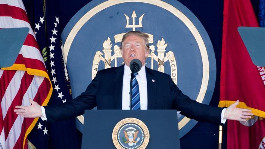 Trump está convencido de que su grandeza no tiene parangón en la historia del universo.
