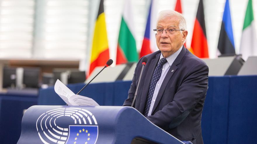 El Alto Representante para la Política Exterior de la Unión Europea y vicepresidente de la Comisión Europea, Josep Borrell.