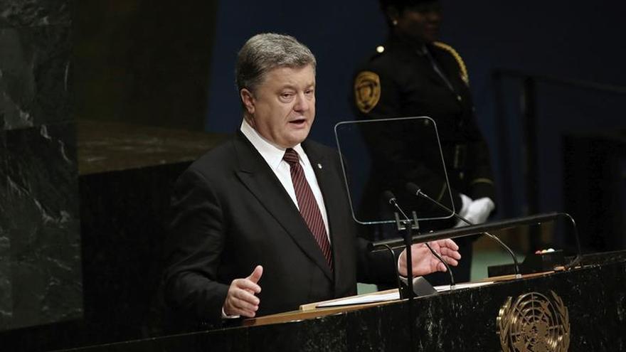 Poroshenko duda de que Estados Unidos vaya a reconocer Crimea como rusa