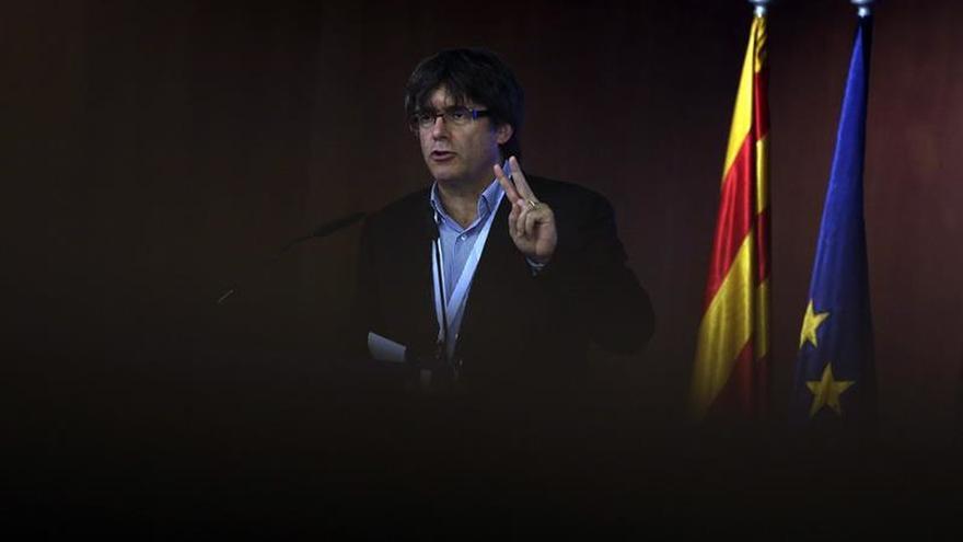 Puigdemont afirma que el referéndum se hará porque ya hay una legalidad catalana